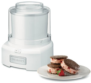 Cuisinart Auto 1.5qt Frozen Yogurt, Sorbet, & Ice Cream Maker