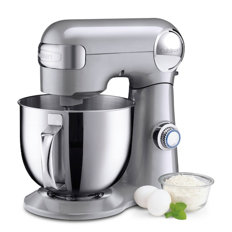 Cuisinart Precision Master 5.5qt Stand Mixer | Brushed Chrome