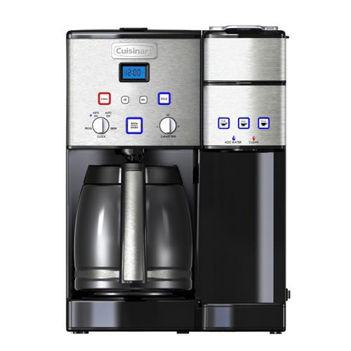Cuisinart DuoBrew 12 cup & Single Serve Coffeemaker