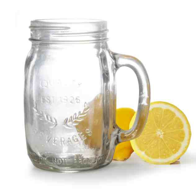 Oasis Drinking Tumbler - Mason Jar with Handle