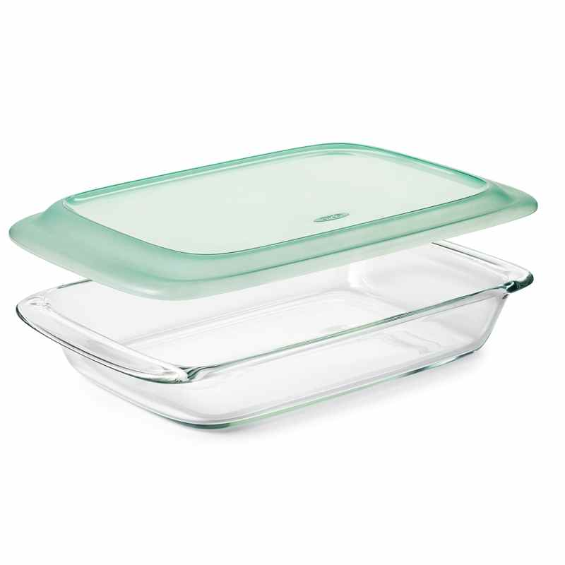 OXO Rectangular Glass Baking Dish with Lid