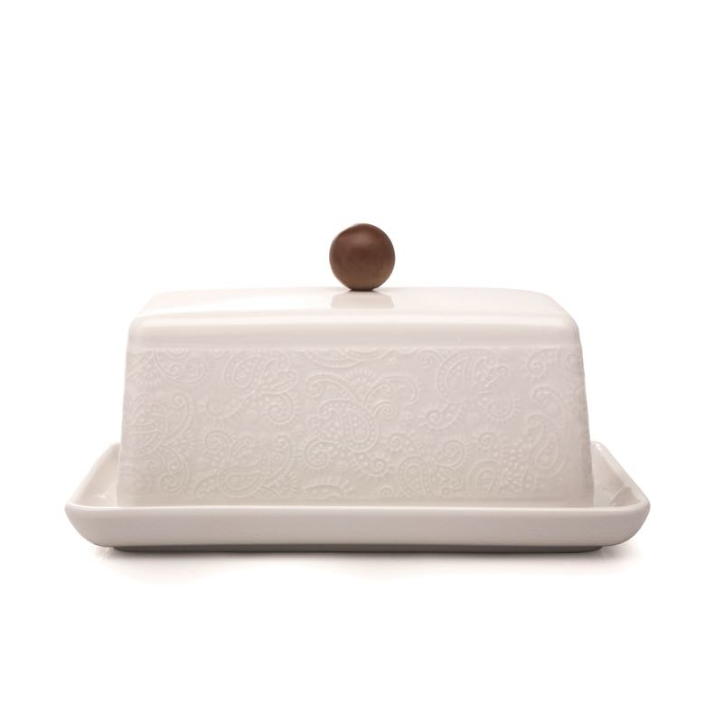 Chalet Chic Covered Butter Dish