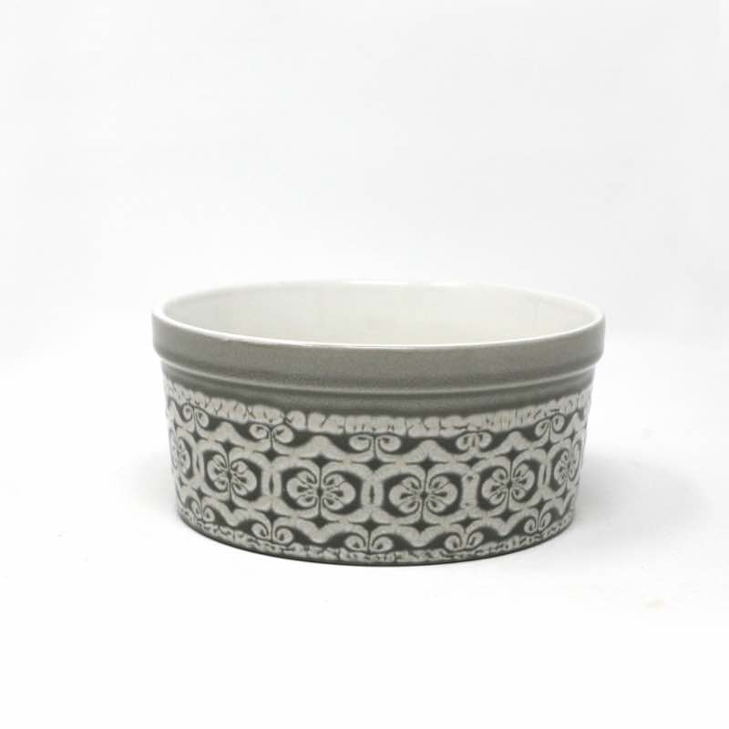 BIA DOMINIQUE Individual Soufflé Dish | Grey