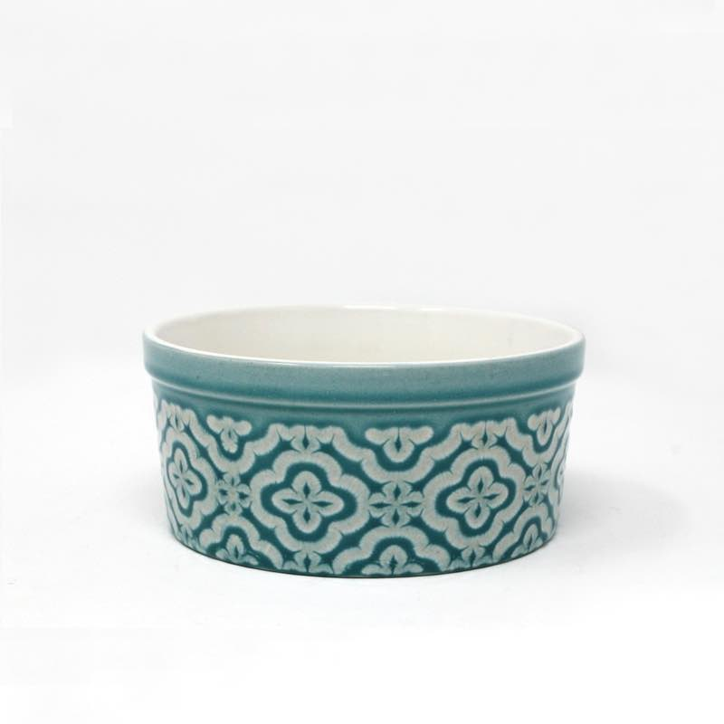 BIA DOMINIQUE Individual Soufflé Dish | Teal