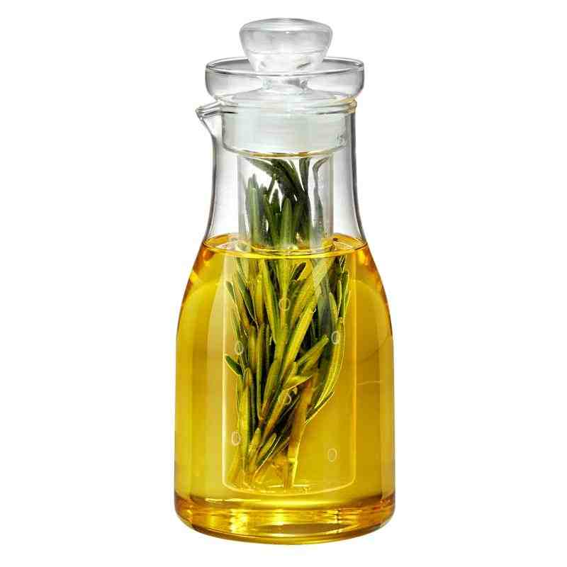 Glass Oil & Herb Infuser Bottle