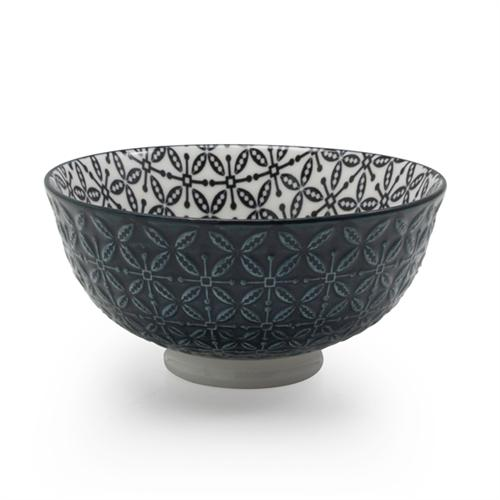 BIA Aster Footed Bowl | Black