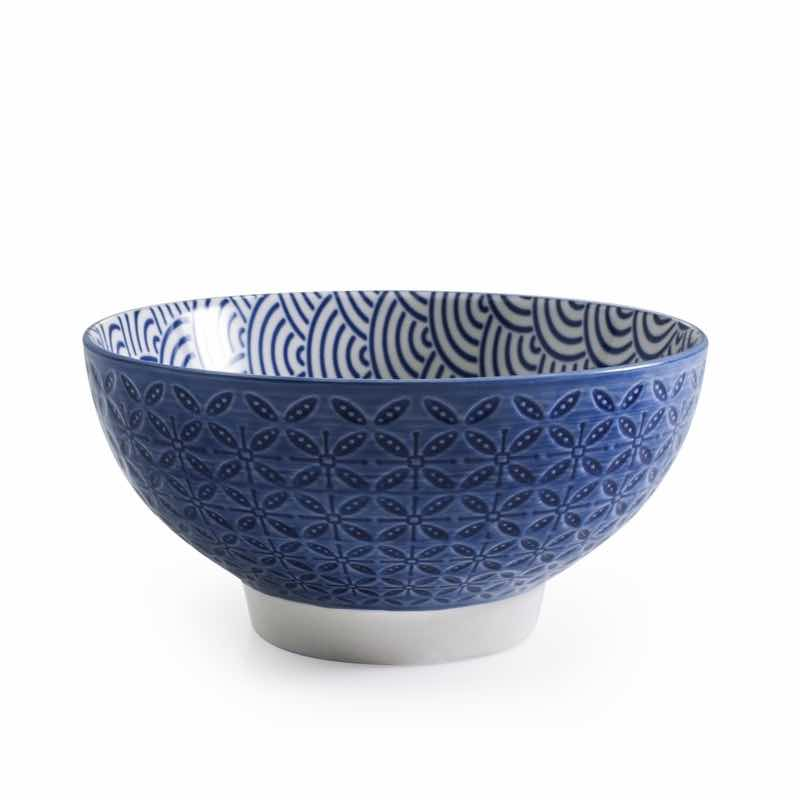 BIA Aster Cereal Bowl | Blue