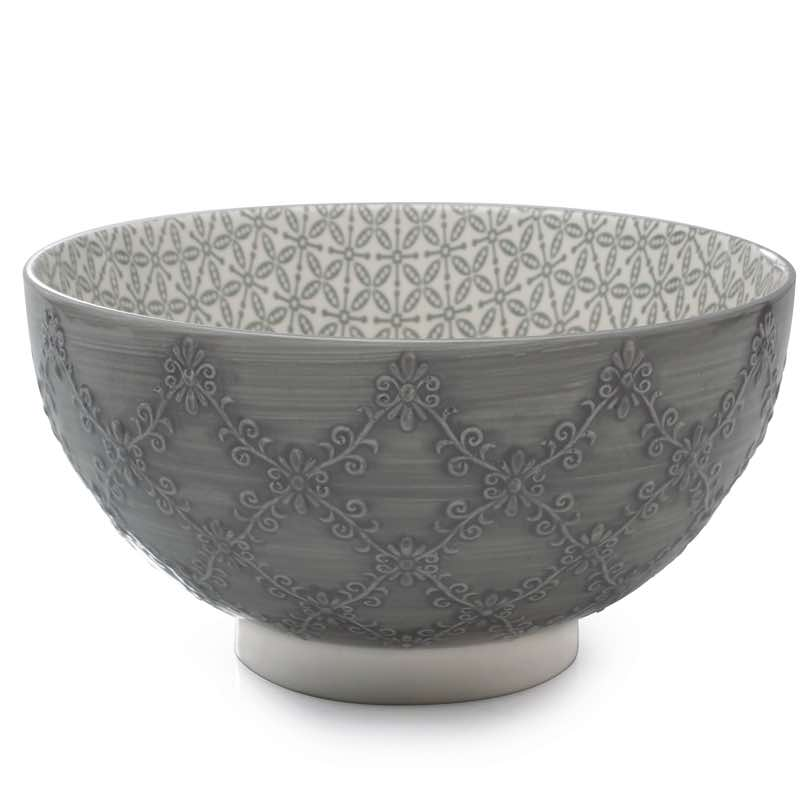 BIA Trellis Serving Bowl | Smoke
