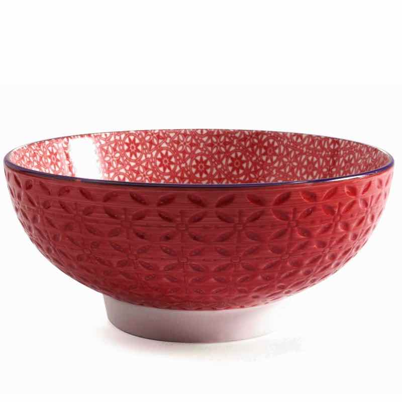 BIA Aster Serving Bowl | Red