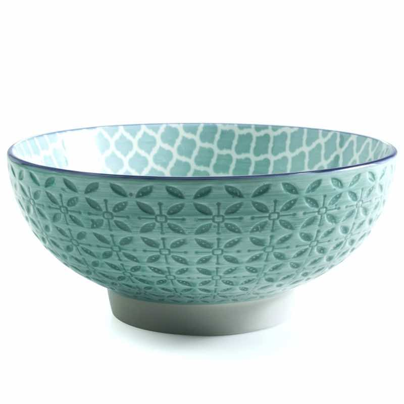 BIA Aster Serving Bowl | Turquoise
