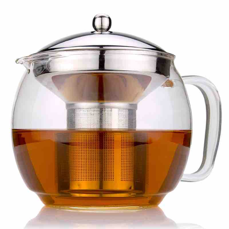 Ch'a Glass Teapot with Infuser