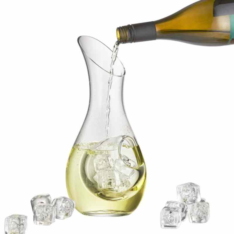 Glass Wine Chilling Decanter