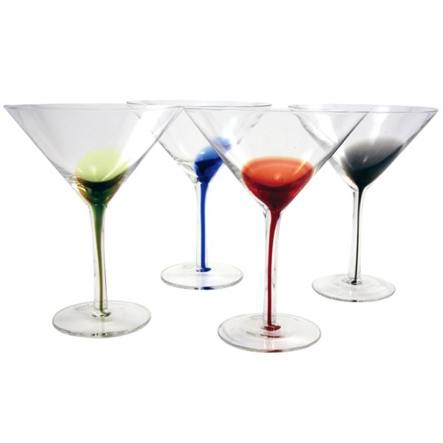 Splash Martini Glasses | Set of 4