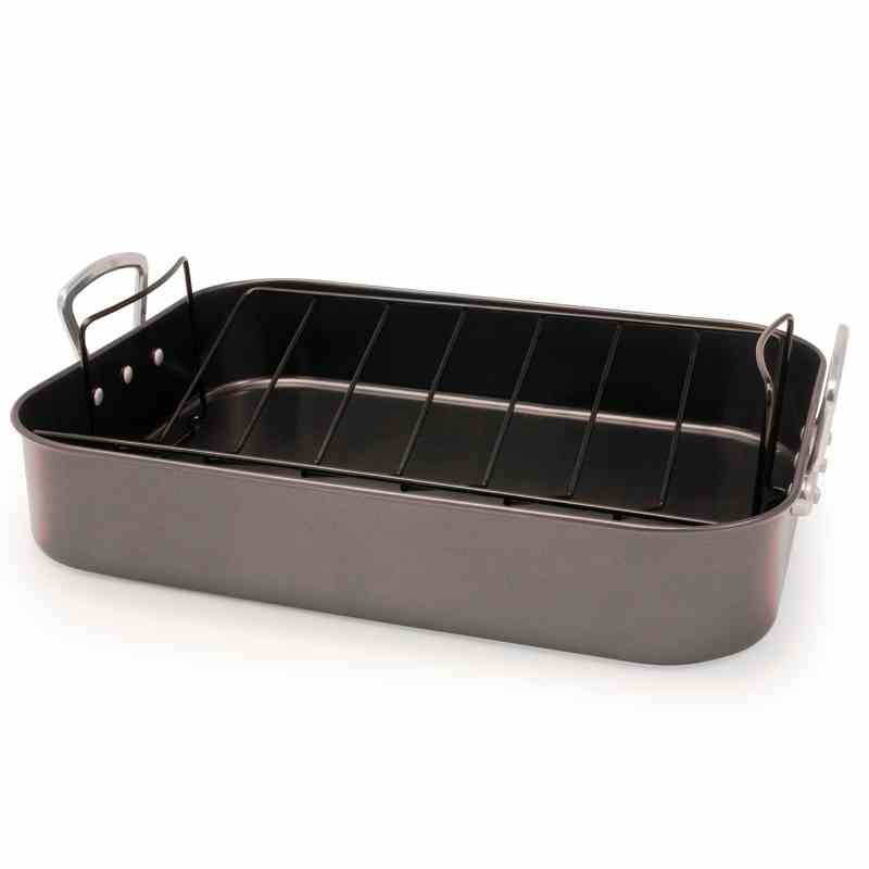Nonstick Roasting Pan | Roaster with Rack