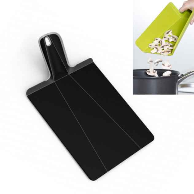 Chop2Pot PLUS Cutting Board | Black