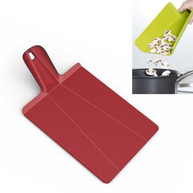 Chop2Pot PLUS Cutting Board | Red