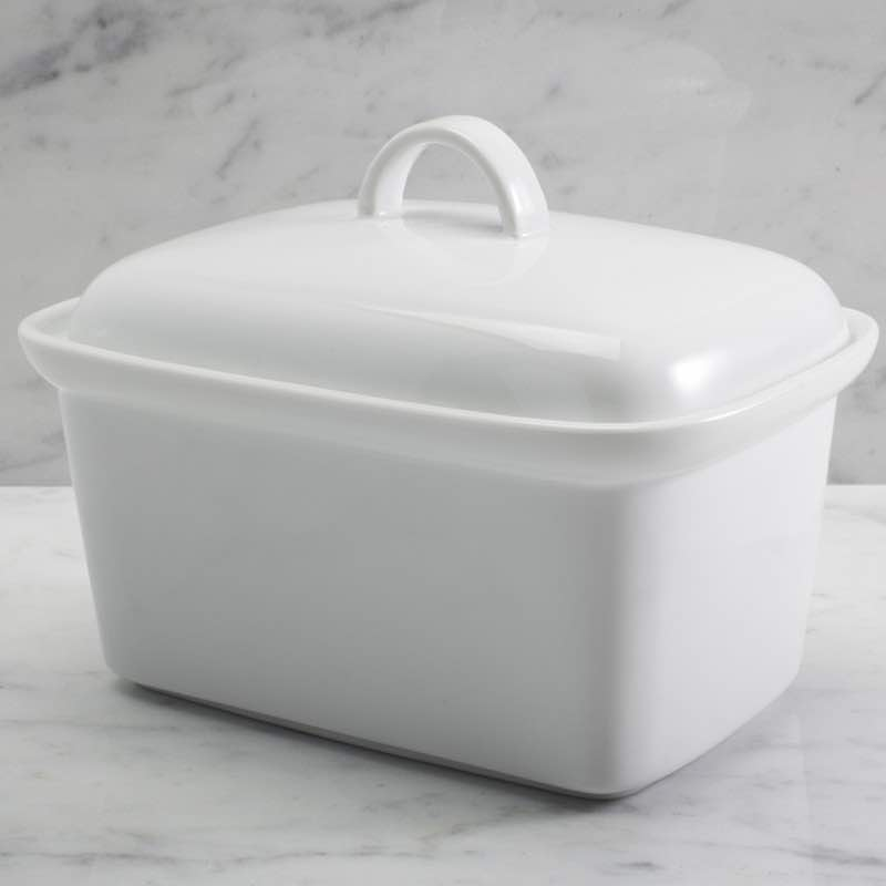Covered Butter Dish | Fits 1lb
