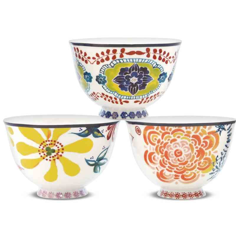 Tahiti Bowls | Set of 3