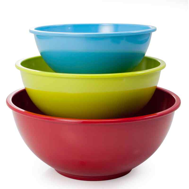 Multi Purpose Mixing Bowls - Set of 3