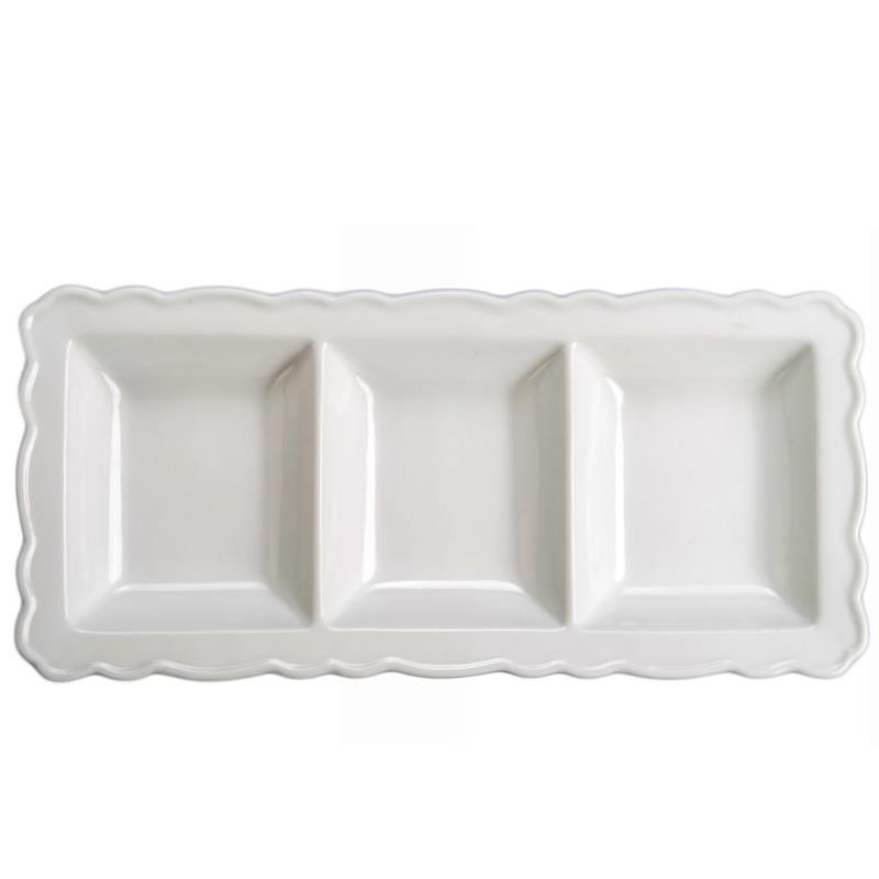 BIA Pembrooke 3 Section Serving Platter