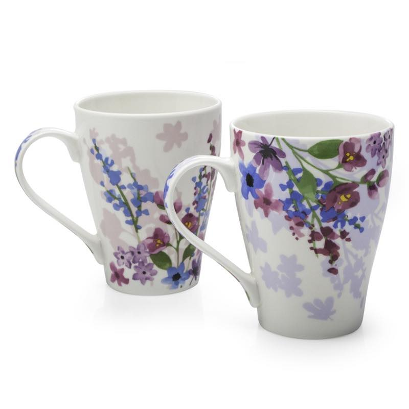 Vienna Bone China Mugs | Set of 2