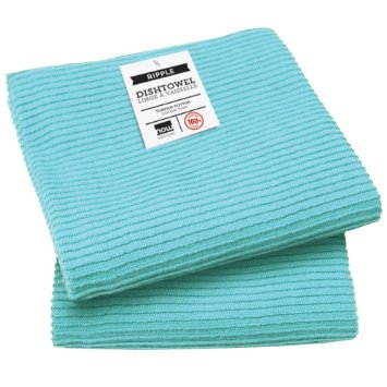 Ripple Kitchen Towel | Bali Blue