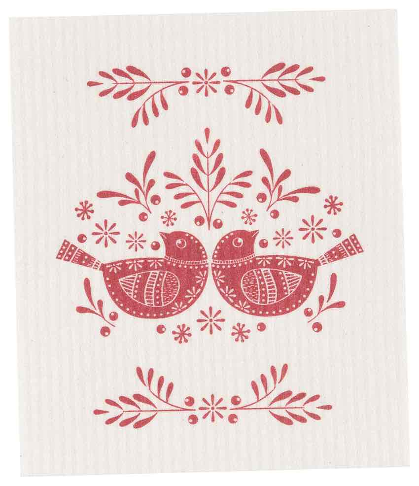 Swedish Dishcloth | Folk Feathers