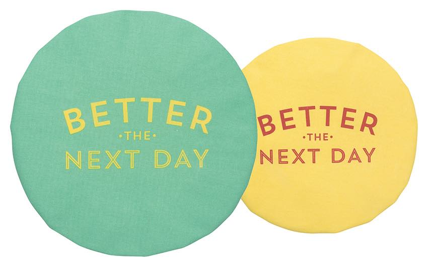 Better The Next Day Save It Bowl Covers | Set of 2