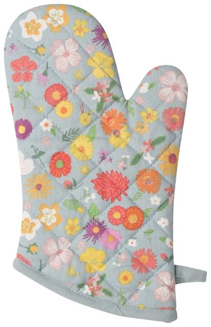 Oven Mitt | Flowers of the Month