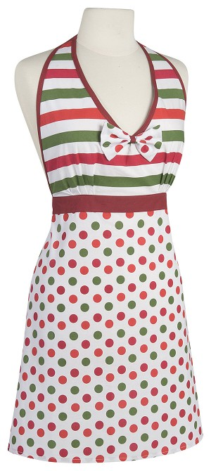 Dotty Holiday Amelia Apron