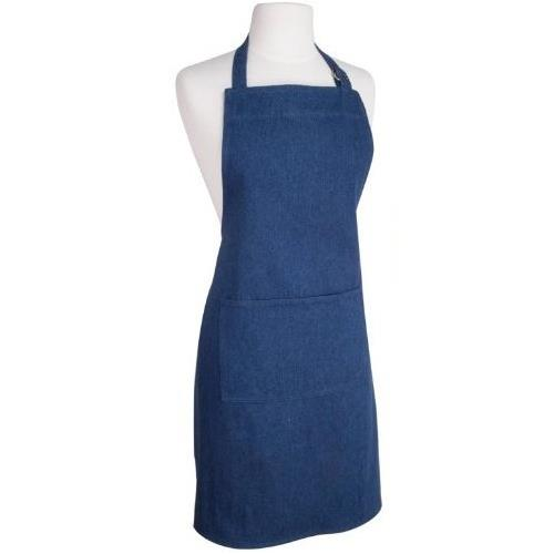 Kitchen Apron - Denim Stone Wash spo