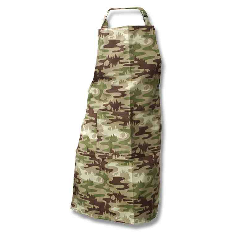 Kitchen Apron - Camouflage