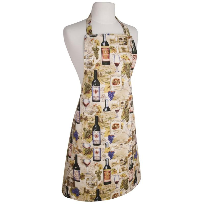 Kitchen Apron | Wine Labels