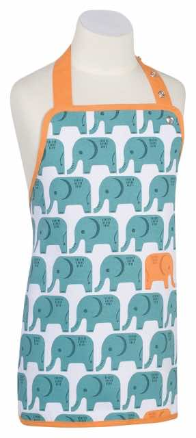 Edgar Elephant Kids' Apron