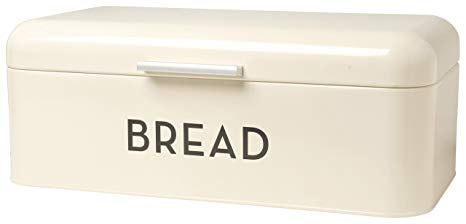 Retro Bread Box | Ivory | Large Bread Bin