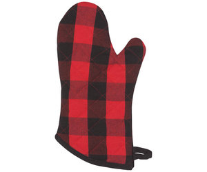 Oven Mitt | Buffalo Check