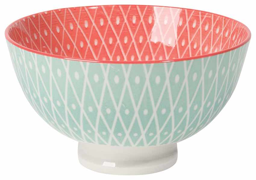 Stamped Bowl 4"