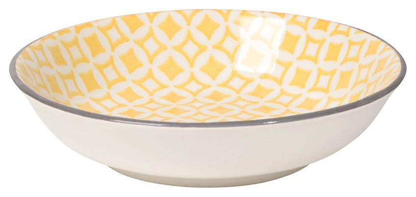 Dip Bowl | Yellow Diamonds