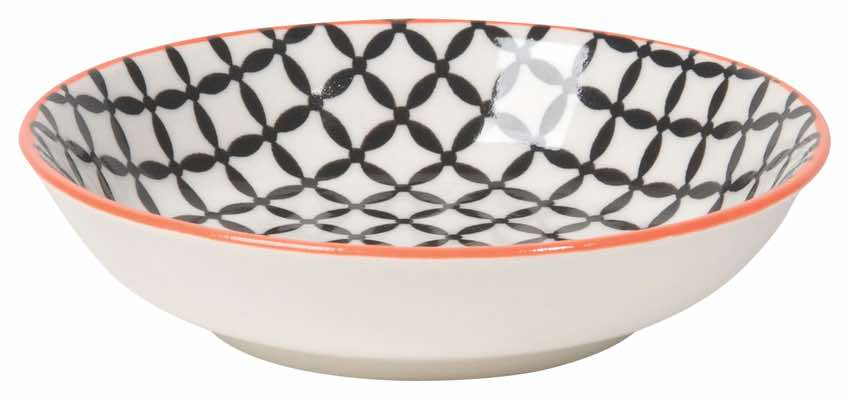 Dip Bowl | Black Lattice