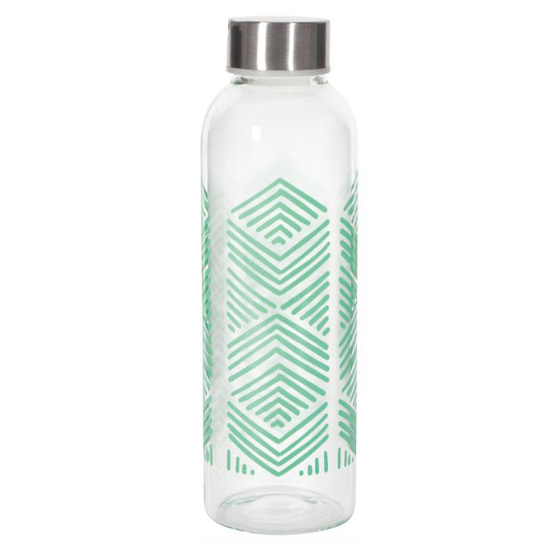 Sustain Glass Water Bottle | Mint