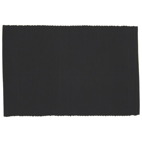 Placemat Basic Black - 1 dozen
