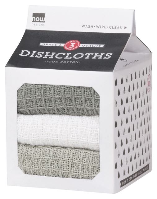 Dish Cloth Set of 3 | London | White | Moonstruck