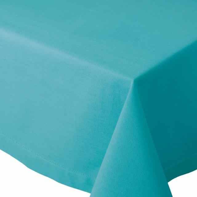 "Table Cloth 60x90"" - Hemstitch Turquoise"