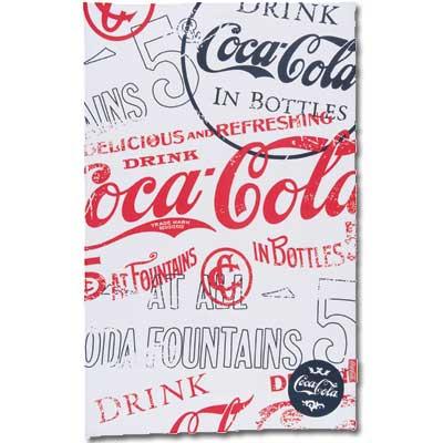 Coca Cola Classic Script Kitchen Towel