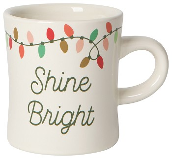 Diner Mug | Christmas Lights