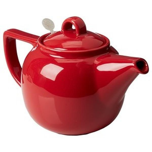 Geo 4-cup Teapot | Red
