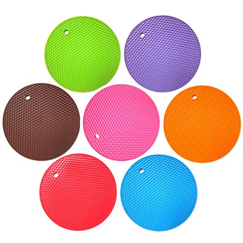 Honeycomb Silicone Trivet | Pot Holder | Assorted Colours