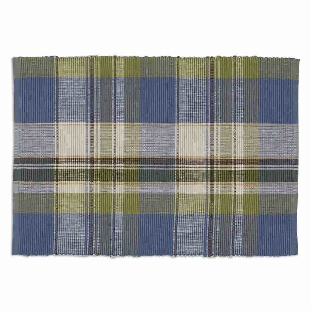 Lake House Plaid Placemats | Set of 4