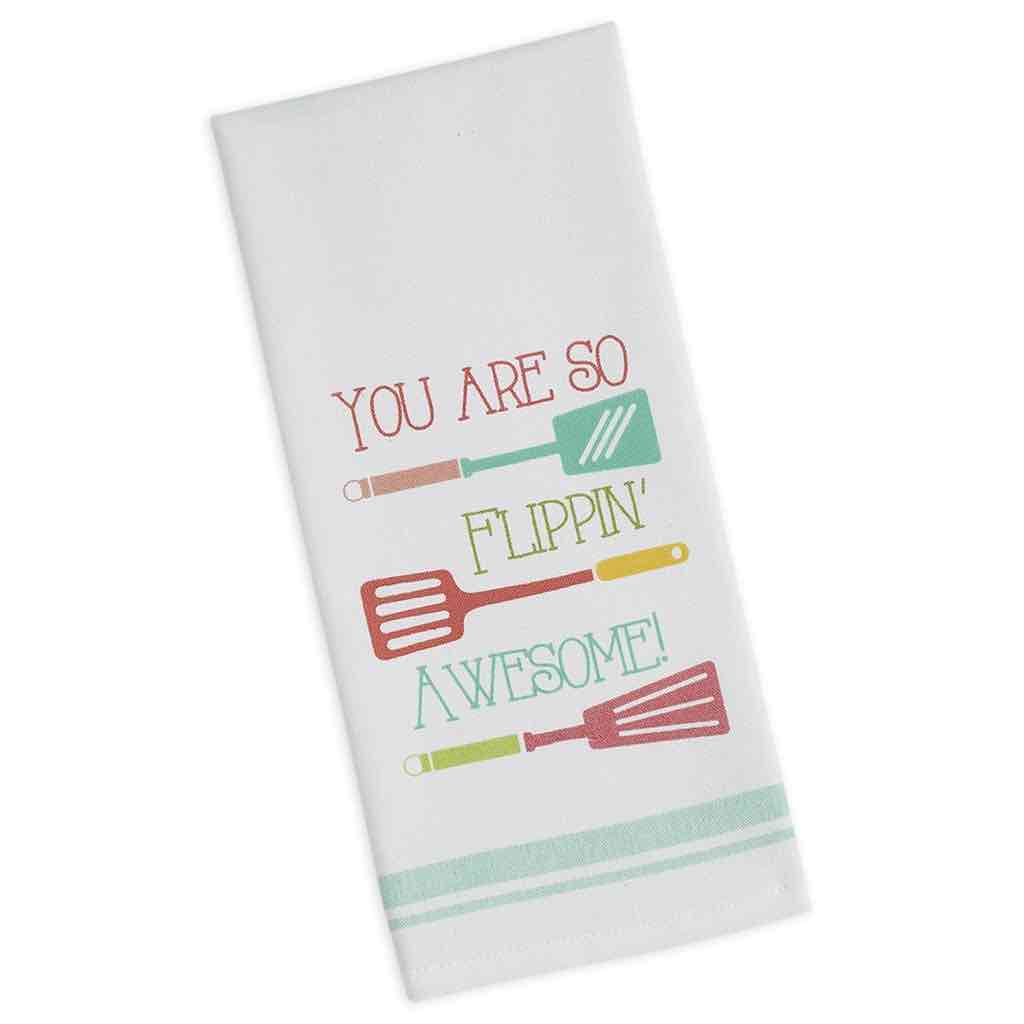 Flippin Awesome Dishtowel