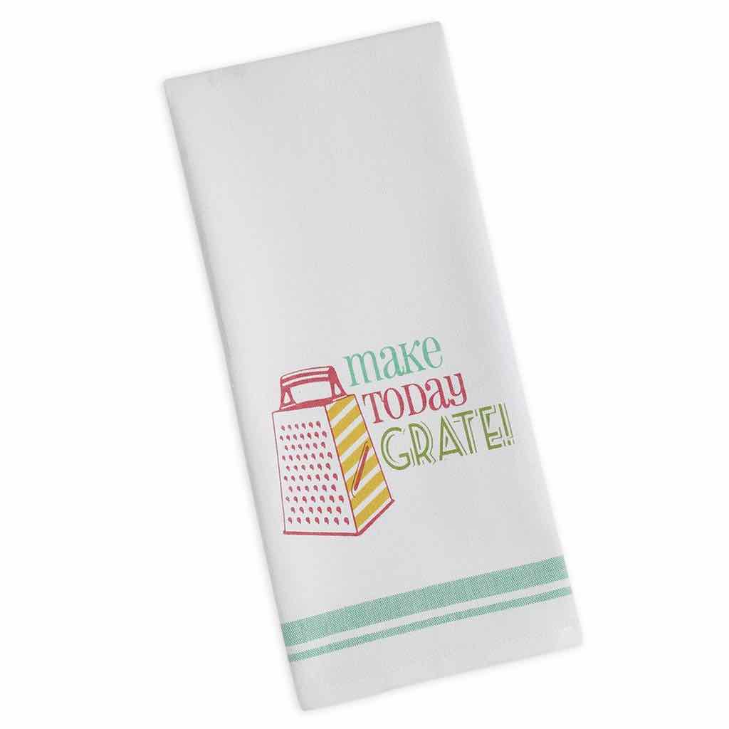 Make Today Grate Dishtowel